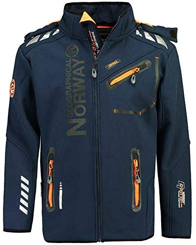 Geographical Norway Herren Softshelljacke Rainman/Richier/Royaute Navy L