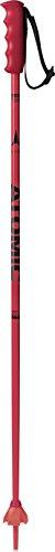 Atomic Kinder Redster JR 1 Paar Skistöcke, Rot/Schwarz, 100 cm