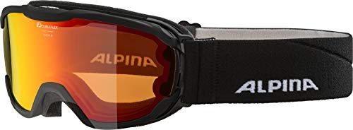 ALPINA PHEOS JR. Skibrille, Kinder, black, one size