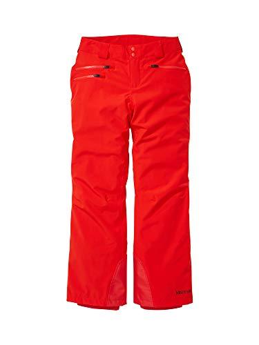 Marmot Damen wasserdichte Ski- Und Snowboard-Hose, Atmungsaktive Funktionshose, Schneehose Zum Wandern Und Langlauf Wm's Slopestar Pant, Victory Red, XL, 79740