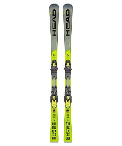 HEAD Herren Skier Supershape i.Speed inkl. Bindung PRD 12 GW grau/gelb (720) 170