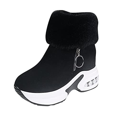 Xiand Winterschuhe Stiefeletten Damen Winterstiefel Wasserdicht Warm Trekkingschuhe rutschfeste Schneestiefel Winter Kurzschaft Stiefel Boots Schuhe
