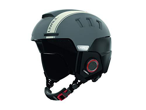 LIVALL Erwachsene RS1 54-58 cm Ski-Helm, grau, M