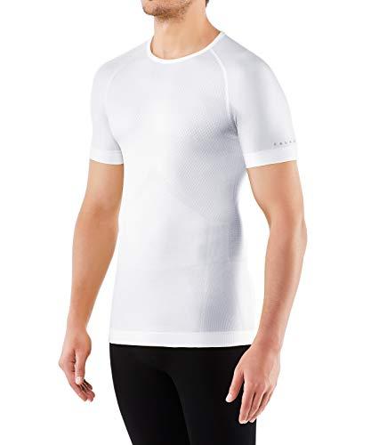 FALKE Herren Kurzarmshirt Cool, Shirt Kurzarm aus Funktionsfaser - atmungsaktiv, 1 er Pack, weiß (White 2860), Größe: XXL
