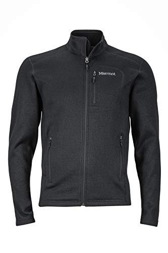Marmot Herren Fleecejacke Outdoorjacke, Atmungsaktiv Drop Line, Black, XL, 83900