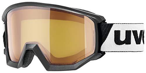 uvex Unisex– Erwachsene, athletic LGL Skibrille, black, one size