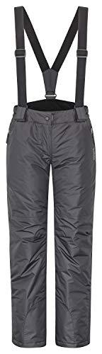 icefeld Damen Skihose/Snowboardhose/Schneehose, schwarz in Größe M