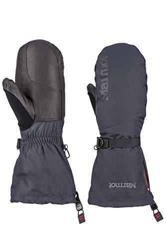 Marmot Herren Hardshell Ski und Snowboard Handschuhe, Fäustlinge, Winddicht, Wasserdicht, Atmungsaktiv Expedition Mitt, Black, L, 11600