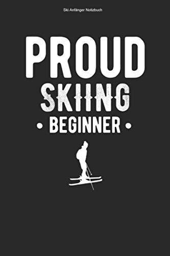 Ski Anfänger Notizbuch: 100 Seiten | Kariert | Skifahren Skier Wintersport Skineuling Team Ski Skischule Skilehrer Skifahrer Skikurs Geschenk Skis Skiunterricht Neuling