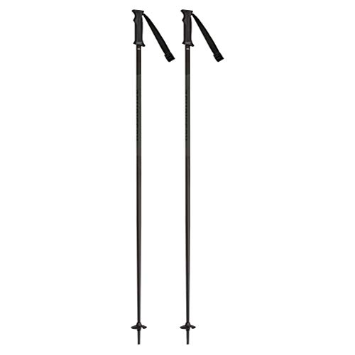 Rossignol Herren, Damen, Unisex-Erwachsene Skistöcke, Black-Military Green, 130 cm