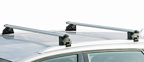 VDP Alu Relingträger CRV107A kompatibel mit Audi A4 Kombi (B9) 5 Türer ab 2015 abschliessbar