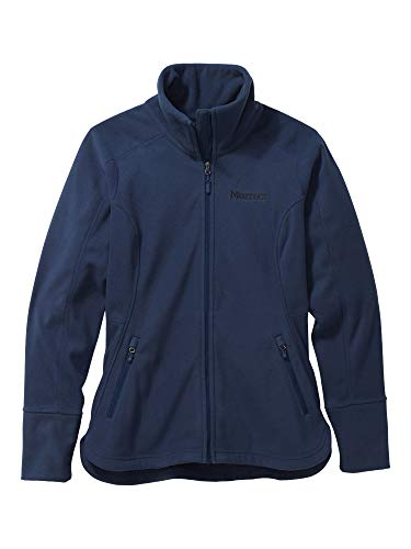 Marmot Damen Fleecejacke, Outdoorjacke, Atmungsaktiv Wm's Pisgah Fleece Jacket, Arctic Navy, L, 89370