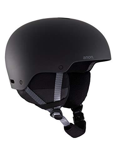 Anon Unisex Jugend Rime 3 Snowboard Helm, Black, SM, 48-51 cm