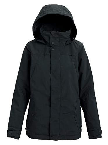 Burton Damen Jet Set Snowboard Jacke, True Black Heather, XS