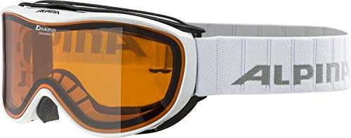 Alpina Challenge 2.0 DH Skibrille, white, One size