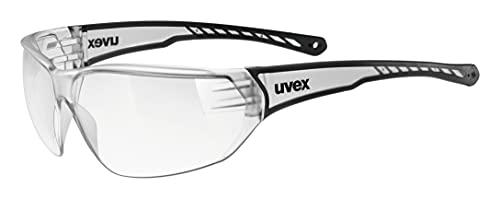 uvex Unisex– Erwachsene, sportstyle 204 Sportbrille, clear/clear, one size