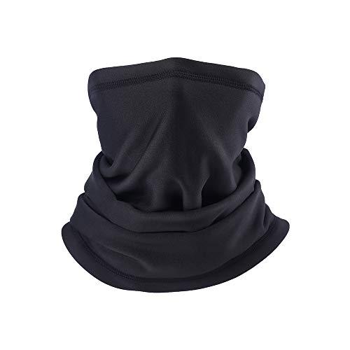 PRAVETTE Halswärmer,Kälteschutz Gesichtsmaske,100% Fleece Multifunktionstuch Halswärmer Motorradmaske Skimaske Mütze für Damen und Herren