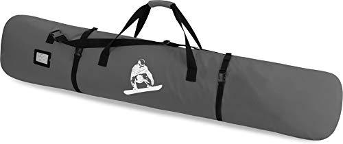 Snowboard Tasche Snow Boardbag mit Adressfeld 170 cm Farbe Grau