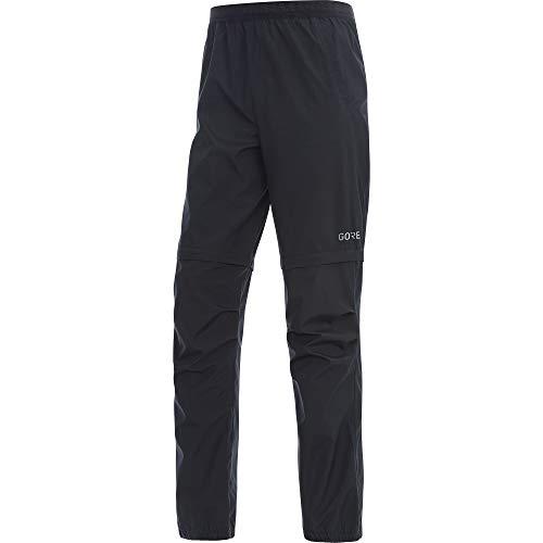 GORE Wear R3 Herren Zip-Off Hose GORE WINDSTOPPER, XL, Schwarz