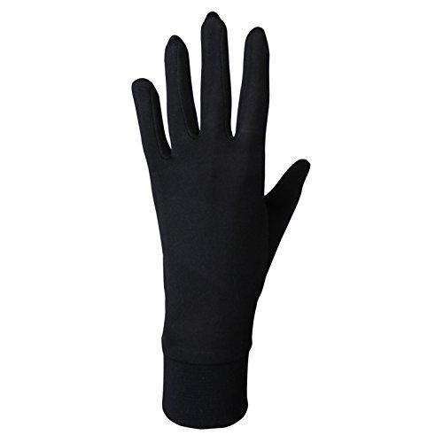 JASMINE SILK Seide Handschuhe Silk Glove Innenhandschuh Unterziehhandschuh (Extra Small)