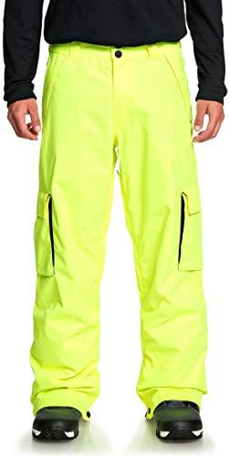 DC Banshee Men's Snowmobile Pants - Safety Yellow/Large