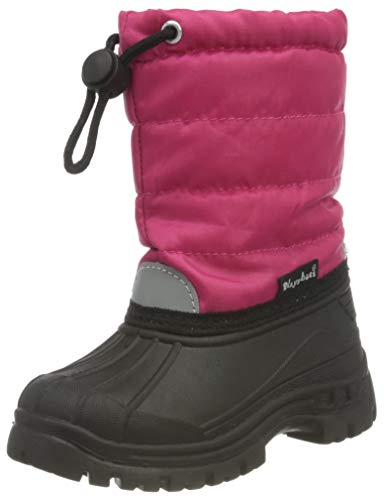 Playshoes Unisex Kinder Schneestiefel, Pink (18 Pink), 30/31