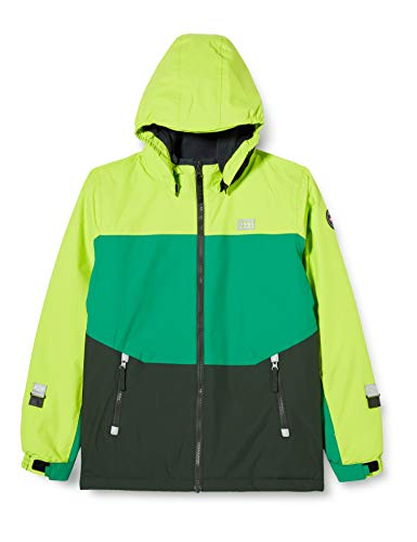 Lego Wear Jungen LWJOSHUA-Lego Tec Play Jacke, 813 Light Green, 110