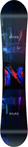 Nitro Snowboards Herren Prime Overlay '20 BRD All Mountain Beginner günstig Snowboard, mehrfarbig, 158 cm