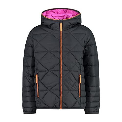 CMP Mädchen Nylon Jacket with Squares Jacke, Titan, 140