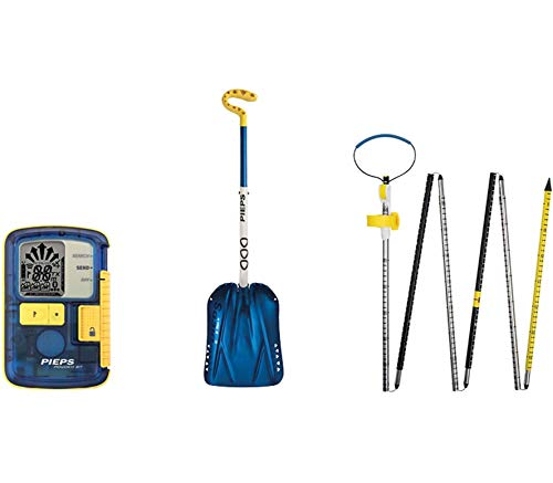 PIEPS Set Powder BT LVs-Gerät, Lawinensonde und Schneeschaufel