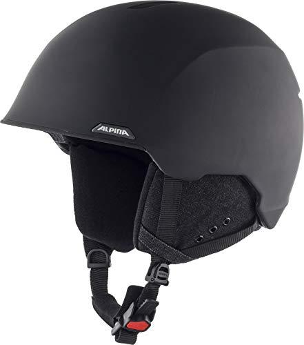 Alpina Unisex-Erwachsene ALBONA Ski- und Snowboardhelm, black matt, 53-57 cm