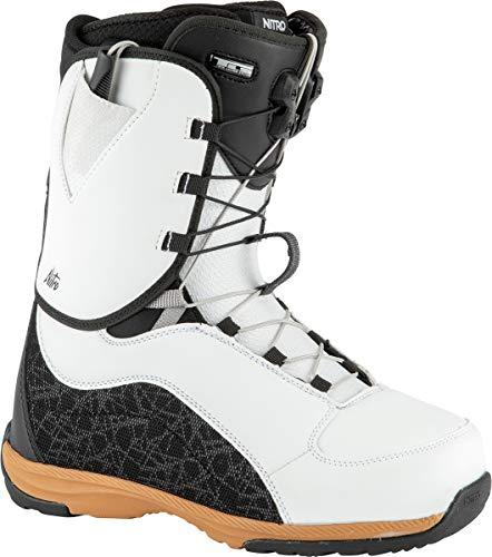 Nitro Damen Futura TLS Boot´21 Snowboardboot, White-Black-Gum, 245