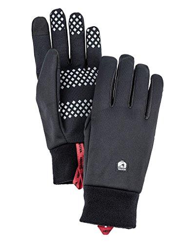 HESTRA Windshield 5-Finger Innenhandschuhe Black Handschuhgröße 7 2020 Outdoor Handschuhe