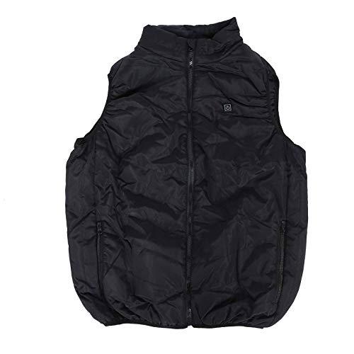 Wiederaufladbar Heizweste, Warm Heated Vest, Beheizte Kleidung Einstellbare Temperatur Damen 5 Bereiche Heizweste Wiederaufladbare USB Weste Jacke Heizung Thermisch Warme Weste(2)