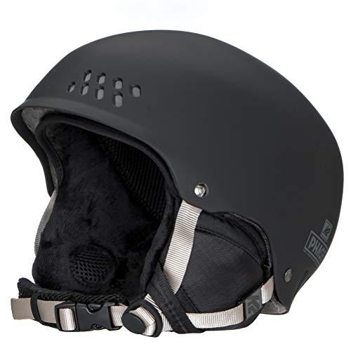 K2 Skis Herren Skihelm PHASE PRO black M 10B4000.3.1.M Snowboard Snowboardhelm Kopfschutz Protektor
