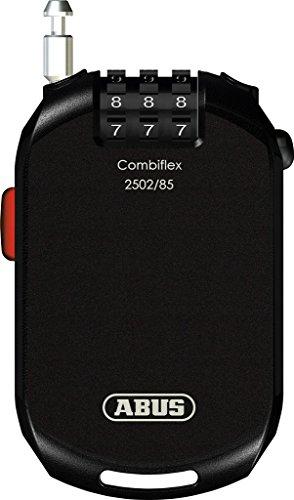 Abus Kabelschloss Combiflex Pro 2502, Black, 85 cm, 72500-5