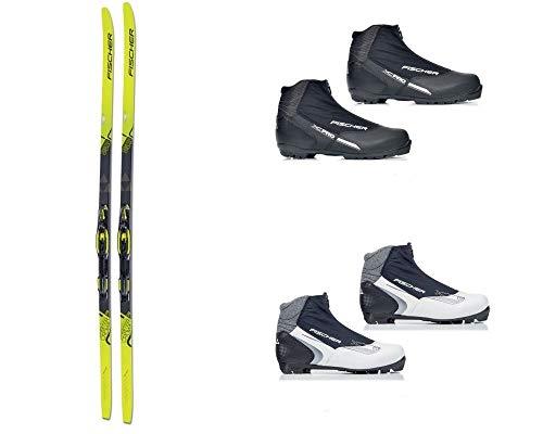 Langlaufski-Set Fischer ORBITER + Bindung + Schuhe Nordic Cruiser (Skilänge 184 cm, 44 (Herrenschuhe))