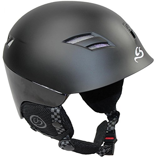 Cox Swain Ski-/Snowboard Helm Peak LTD. Inmold, Colour: Black, Size: M (52-55cm)