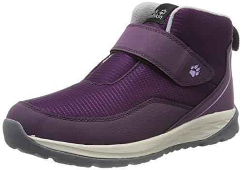 Jack Wolfskin Unisex-Kinder Polar Wolf Low VC K Schneestiefel, Violett (Purple/Off-White 2818), 38 EU