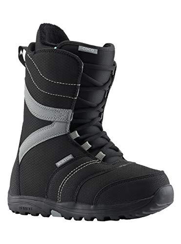 Burton Damen Coco Black Snowboard Boot, Schwarz, 40 EU(Herstellergröße: 6)
