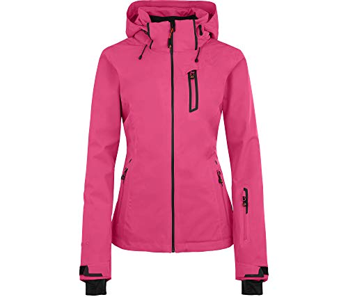 Bergson Damen Skijacke Nice Light, Fandango pink [185], 17 - Damen