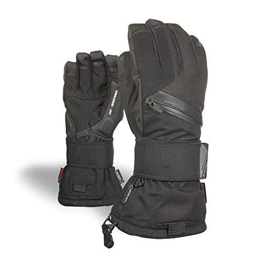Ziener Erwachsene MARE GTX Gore plus warm glove SB Snowboard-handschuhe, schwarz (black hb), 8