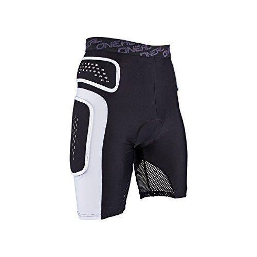 O'NEAL | Protektoren-Hose | Motocross Enduro Motorrad | Beständiger High-Density Eva Schaum, Integrierte Belüftungspads, elastischer Taillenbereich | Pro Short | Erwachsene | Schwarz Weiß | Größe M