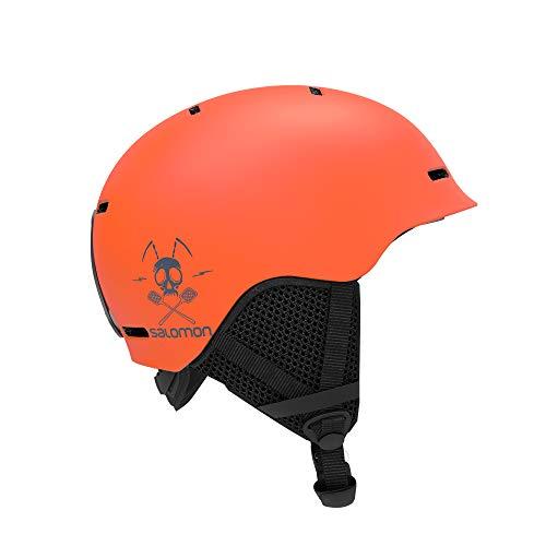 Salomon Grom Kinder Ski- und Snowboardhelm, In-Mold-Schale + EPS-Innenschale, Größe M, Kopfumfang 53-56 cm