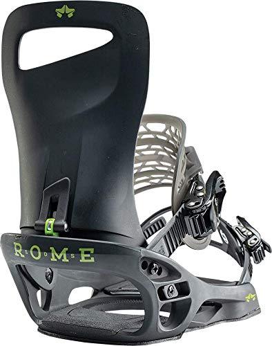 Rome Snowboards Herren Slice Snowboard-Bindung, Schwarz, Medium - Large