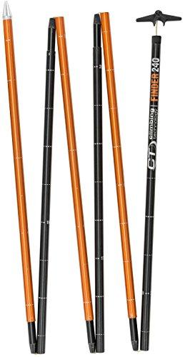 Climbing Technology Probe Finder 2402i80906ctstd Lawinensonde, Schwarz/Orange, One Size