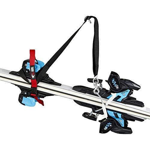 ski-Bird: Ski Tragegurt & Snowboard - Made in Germany - kinderleicht Ski Tragen und Heben, ideal auch für kurze Strecken, Hände frei, schützt Handschuhe und Bekleidung, Länge verstellbar