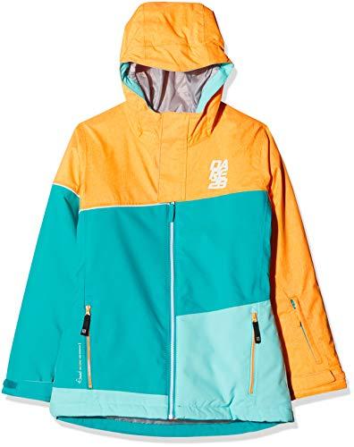 Dare 2b DKP353 Unisex Kinder Skijacke, Kinder, DKP353 331C09, Multicolore (OrngBst/SeaB), 9-10 Jahre