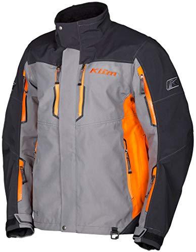 Klim Valdez Parka Schneemobil Jacke Orange S