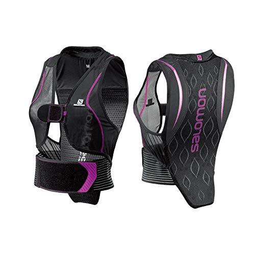 Salomon Flexcell Damen Ski-Rückenprotektor Verstellbar MotionFit Atmungsaktiv